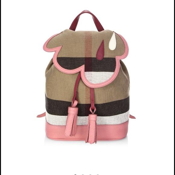 9c0e6840a42f Burberry check cloud mini backpack